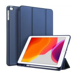 Accezz Smart Silicone Bookcase iPad 10.2 (2019 / 2020 / 2021) - Blauw