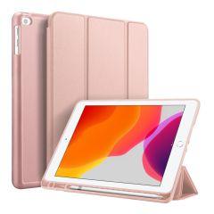 Accezz Smart Silicone Bookcase iPad 10.2 (2019 / 2020 / 2021) - Rosé Goud