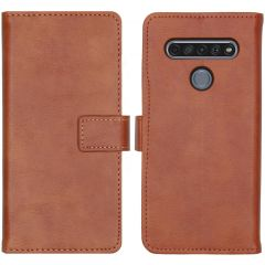 iMoshion Luxe Booktype LG K61 - Bruin