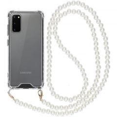 iMoshion Backcover met koord - Parels Samsung Galaxy S20