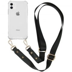 iMoshion Backcover met strap iPhone 11 - Transparant