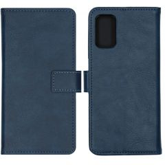 iMoshion Luxe Booktype Oppo A52 / A72 / A92 - Donkerblauw