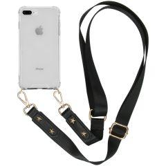 iMoshion Backcover met strap iPhone 8 Plus / 7 Plus - Transparant