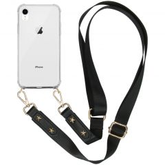 iMoshion Backcover met strap iPhone Xr - Transparant