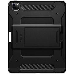 Spigen Tough Armor Tech Backcover iPad Pro 12.9 (2020) - Zwart