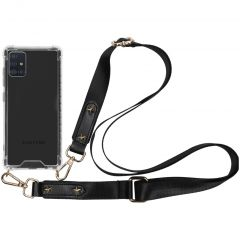 iMoshion Backcover met strap Samsung Galaxy A51 - Transparant