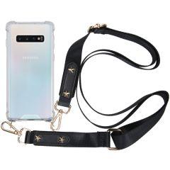 iMoshion Backcover met strap Samsung Galaxy S10 - Transparant