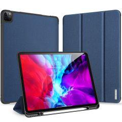 Dux Ducis Domo Bookcase iPad Pro 12.9 (2020) - Donkerblauw