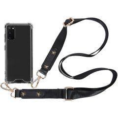 iMoshion Backcover met strap Samsung Galaxy S20 - Transparant