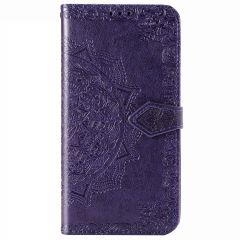 Mandala Booktype Oppo A52 / Oppo A72 / Oppo A92 - Paars