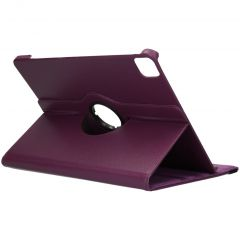 iMoshion 360° draaibare Bookcase iPad Pro 12.9 (2020) - Paars
