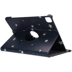 360° Draaibare Design Bookcase iPad Pro 12.9 (2020)