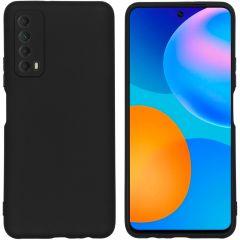 iMoshion Color Backcover Huawei P Smart (2021) - Zwart