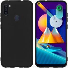 iMoshion Color Backcover Samsung Galaxy M11 / A11 - Zwart