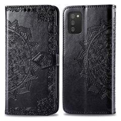 iMoshion Mandala Booktype Samsung Galaxy A02s - Zwart