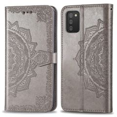 iMoshion Mandala Booktype Samsung Galaxy A02s - Grijs