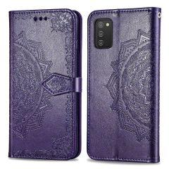 iMoshion Mandala Booktype Samsung Galaxy A02s - Paars