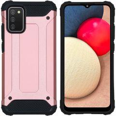 iMoshion Rugged Xtreme Backcover Samsung Galaxy A02s - Rosé Goud