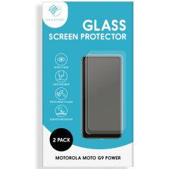 iMoshion Screenprotector Gehard Glas 2 pack Motorola Moto G9 Power