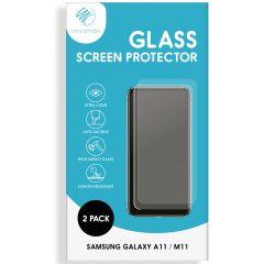 iMoshion Screenprotector Gehard Glas 2 pack Samsung Galaxy A11 / M11