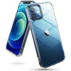 Ringke Fusion Backcover iPhone 12 (Pro) - Mat Transparant