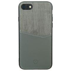 Valenta Card Slot Backcover iPhone SE (2020) / 8 / 7 / 6(s) - Grijs