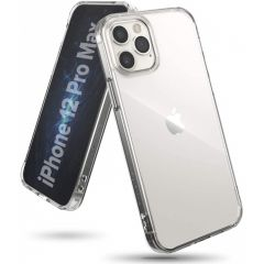 Ringke Fusion Backcover iPhone 12 Pro Max - Transparant