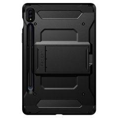 Spigen Tough Armor Pro Backcover Samsung Galaxy Tab S7 - Zwart