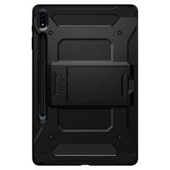 Spigen Tough Armor Pro Backcover Samsung Galaxy Tab S7 Plus - Zwart