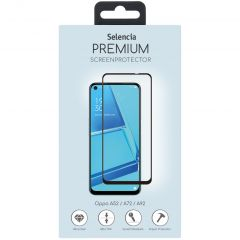 Selencia Gehard Glas Screenprotector Oppo A52 / A72 / A73 (5G) / A92