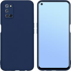 iMoshion Color Backcover Oppo A52 / Oppo A72 / A92 - Donkerblauw