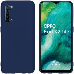 iMoshion Color Backcover Oppo Find X2 Lite - Donkerblauw