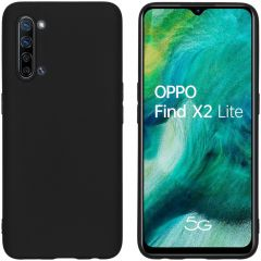 iMoshion Color Backcover Oppo Find X2 Lite - Zwart