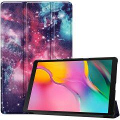 iMoshion Design Trifold Bookcase Galaxy Tab A 10.1 (2019)