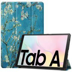 iMoshion Design Trifold Bookcase Galaxy Tab A7 - Groene Plant