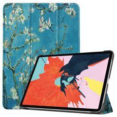 iMoshion Design Trifold Bookcase iPad Air (2020) - Groene Plant