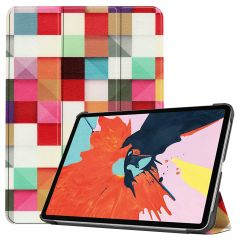 iMoshion Design Trifold Bookcase iPad Air (2020) - Kleurtjes