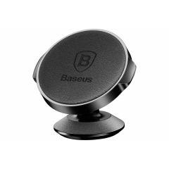 Baseus Zwart Leather Magnetic Car Mount Holder