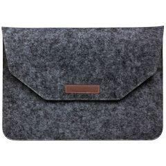Vilten Soft Sleeve 13 inch - Donkergrijs