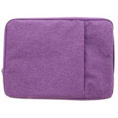Paars textiel universele sleeve 13.3 inch