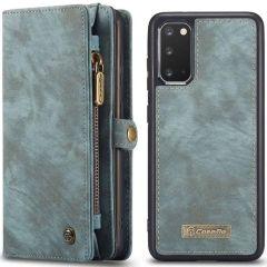 CaseMe Luxe Lederen 2 in 1 Portemonnee Booktype Samsung Galaxy S20