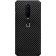 OnePlus Carbon Protective Backcover OnePlus 8 - Zwart