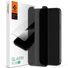Spigen GLAStR Privacy Screenprotector iPhone 12 Mini