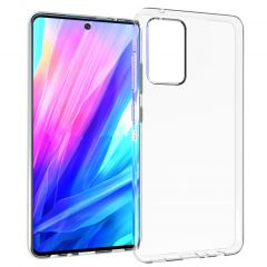 Accezz Clear Backcover Galaxy A52(s) (5G/4G) - Transparant