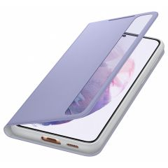 Samsung Clear View Booktype Galaxy S21 Plus - Paars