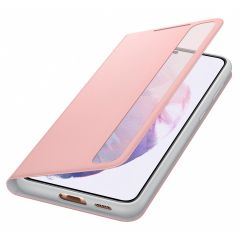 Samsung Clear View Booktype Galaxy S21 Plus - Roze