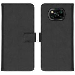 iMoshion Luxe Booktype Xiaomi Poco X3 (Pro) - Zwart