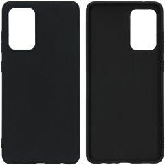 iMoshion Color Backcover Samsung Galaxy A72 - Zwart