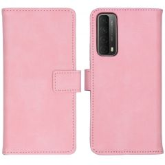iMoshion Luxe Booktype Huawei P Smart (2021) - Roze