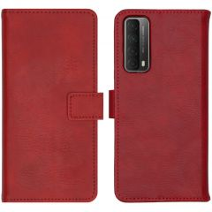iMoshion Luxe Booktype Huawei P Smart (2021) - Rood
